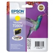 CARTUCHO TINTA EPSON T0804 AMARILLO 7.4ML STYLUS PHOTO R265/ 285/ 360/ RX560/ 585/ 685 - Inside-Pc
