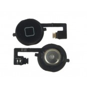Boton Home con Flex iPhone 4S Negro - Inside-Pc