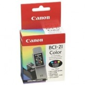 Liquidacion CARTUCHO CANON BCI-21 BJC-4000 COLOR ORIGINAL (BP) - Inside-Pc