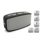 Altavoz SoundPlay Wild Bluetooth Silver Biwond - Inside-Pc