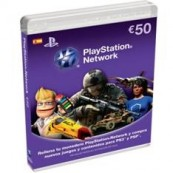 TARJETA PREPAGO SONY PLAYSTATION 50 EUROS PS4 - PS3 - PSP - PSVITA - Inside-Pc