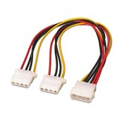 "CABLE ALIMENTACION 5.25""/M-2X5.25""/H 30CM OEM - Inside-Pc"
