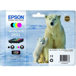 CARTUCHO Original EPSON 26XL MULTIPACK - Inside-Pc