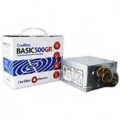 FUENTE ALIMENTACION DE ALIMENTACION COOLBOX ATX BASIC 500GR - Inside-Pc