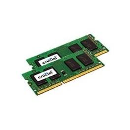 MEMORIA PORTATIL DDR3 L 4GB CRUCIAL - SO DIMM 204 - 1600 MHZ - PC3 12800 - CL11 - 1.35V - Inside-Pc