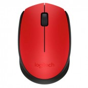 RATON LOGITECH WIRELESS M171 ROJO marca LOGITECH - Inside-Pc