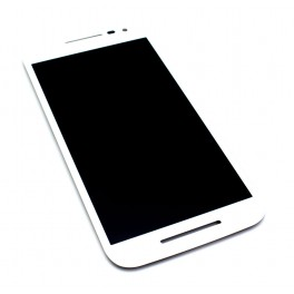 Pantalla Táctil + LCD Motorola Moto G 3 Gen Blanco - Inside-Pc