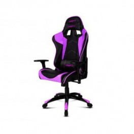 SILLA GAMING DRIFT DR300 NEGRO-PURPURA - Inside-Pc