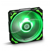 VENTILADOR 120X120 NOX HFAN 120 LED VERDE - Inside-Pc