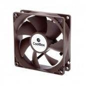 VENTILADOR AUXILIAR COOLBOX 9CM - 1600RPM - COLOR NEGRO - Inside-Pc