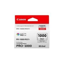 CARTUCHO DE TINTA CANON PFI-1000PGY FOTO GRIS PRO-1000 - Inside-Pc