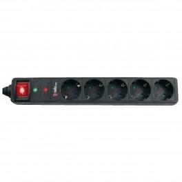 REGLETA PROTECTORA RIELLO THUNDER 6002 6 TOMAS + USB - Inside-Pc
