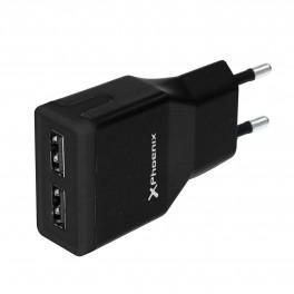 CARGADOR USB UNIVERSAL DE PARED 5V 2A PHOENIX PHMICROUSBCHARGER - Inside-Pc