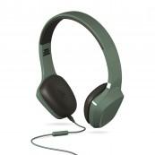 Auriculares + Micrófono Energy Headphones 1 Verdes  - Inside-Pc