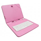 "Funda Tablet Teclado 8"" Rosa - Inside-Pc"