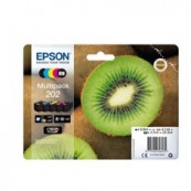 MULTIPACK TINTA EPSON T02E740 5 COLORES CLARIA 202 KIWI - Inside-Pc