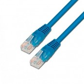 CABLE RED ETHERNET UTP CAT6 RJ45 AISENS 1M AZUL - Inside-Pc