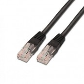 CABLE RED ETHERNET UTP CAT6 RJ45 AISENS 0.5M NEGRO - Inside-Pc