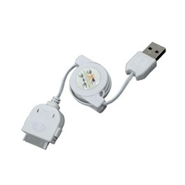 CABLE DE CARGA Y SINCRONIZACION PHOENIX RETRACTIL PARA DISPOSITIVOS APPLE IPHONE / IPAD / IPOD 1M  BLANCO - Inside-Pc
