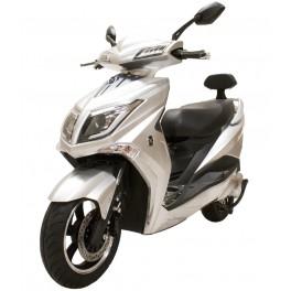 Moto Eléctrica Hawk Matriculable 1800W - 40AH Plata - Inside-Pc