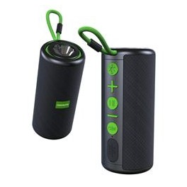 Altavoz Bluetooth XR 10W + Linterna Verde COOLSOUND - Inside-Pc