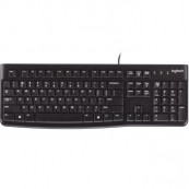 Keyboard LOGITECH K120 USB Black RUSSIAN - Inside-Pc