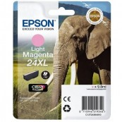 CARTUCHO TINTA EPSON 24XL 9.8ML MAGENTA CLARO - ELEFANTE - Inside-Pc