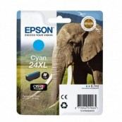 CARTUCHO TINTA EPSON 24XL 8.7ML CIAN - ELEFANTE - Inside-Pc