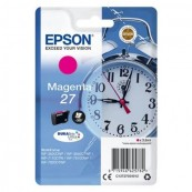 CARTUCHO TINTA EPSON 27 MAGENTA DURABRITE - 3.6ML - DESPERTADOR - Inside-Pc
