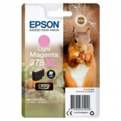 CARTUCHO TINTA EPSON 378XL MAGENTA CLARO CLARIA PHOTO HD - 10.3ML - ARDILLA - Inside-Pc