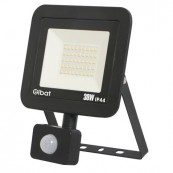 LED Spotlight ELBAT Ultra Slim 30W - Motion Sensor - 6500K Black - Inside-Pc
