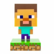 LAMPARA MESA PALADONE ICON MINECRAFT STEVE - Inside-Pc