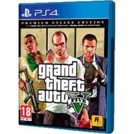 Game SONY PLAYSTATION PS4 GRAND THEFT AUTO V PREMIUM EDITION - Inside-Pc