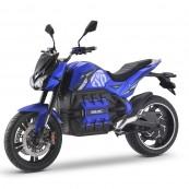 Moto Eléctrica E-Odín 125e Matriculable 6000W - 100Ah Azul - Inside-Pc