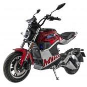 Moto Electrica SUNRA Miku Super 125e Matriculable 3000W - 40AH Roja - Inside-Pc
