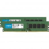 MEMORIA RAM DDR4 64GB 2X32GB CRUCIAL - UDIMM - 3200MHZ - PC4-25600 - CL22 - Inside-Pc