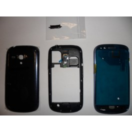 REPUESTO HOUSING COMPLETO SAMSUNG GALAXY S3 MINI I8190 AZUL - Inside-Pc