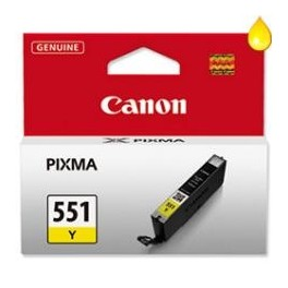 CARTUCHO CANON CLI-551Y AMARILLO MG6350 / MG5450 - Inside-Pc
