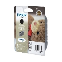 CARTUCHO TINTA EPSON T0611 NEGRO 8ML COLOR STYLUS D68/ 88/ D88+/ DX3800/ 4200/ 4800 - Inside-Pc