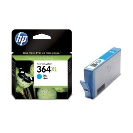 CARTUCHO TINTA HP 364XL CB323EE CIAN 7ML D5460/ B8550/ C6380/ C5380 - Inside-Pc