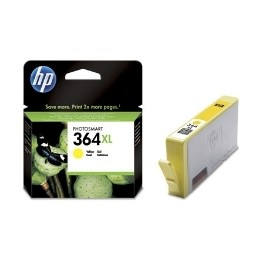 CARTUCHO TINTA HP 364XL CB325EE AMARILLO 7ML D5460/ B8550/ C6380/ C5380 - Inside-Pc