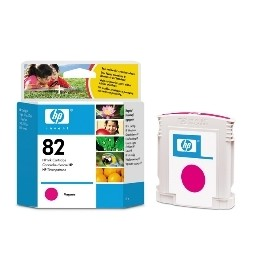 CARTUCHO TINTA HP 82 C4912A MAGENTA 69ML 800/ 800PS/ CC800PS - Inside-Pc