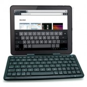MINI TECLADO INALAMBRICO PHOENIX KEYTABLET MULTIMEDIA BLUETOOTH / SOPORTE UNIVERSAL PARA TABLET IPAD  - Inside-Pc