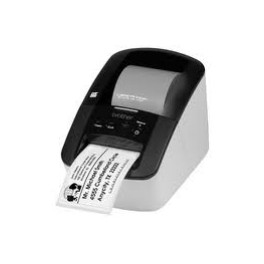 IMPRESORA ETIQUETAS BROTHER QL-700 62MM/68EPM/USB - Inside-Pc