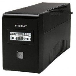 SAI 850VA PHASAK INTERACTIVO 2XSCHUKO PH 9485 - Inside-Pc