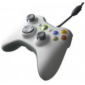 Mando Xbox360 Blanco (Con Cable) - Inside-Pc