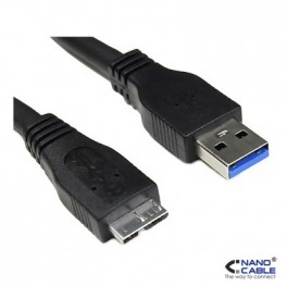 NANOCABLE CABLE USB 3.0, TIPO A/M-MICRO B/M,· - Inside-Pc
