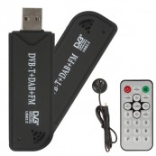 Receptor USB Mini Digital TV-DVBT + Mando y Antena - Inside-Pc