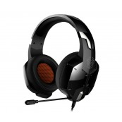AURICULARES CON MICROFONO KROM KOPA GAMING NEGRO - Inside-Pc