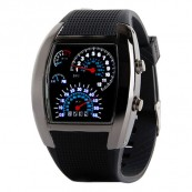 Reloj Digital Sport LED Negro - Inside-Pc